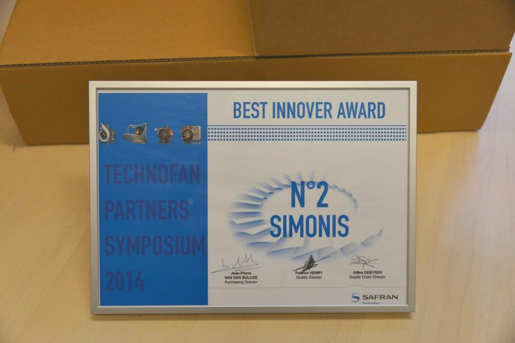 Best Innover Award 2014