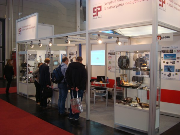 First visitors - Fakuma 2015